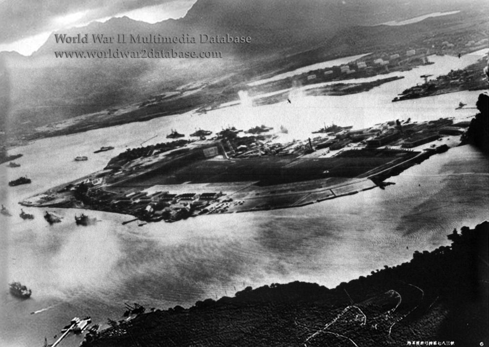 U.S.S. Neosho (A0-23) in Pearl Harbor - December 7th, 1941