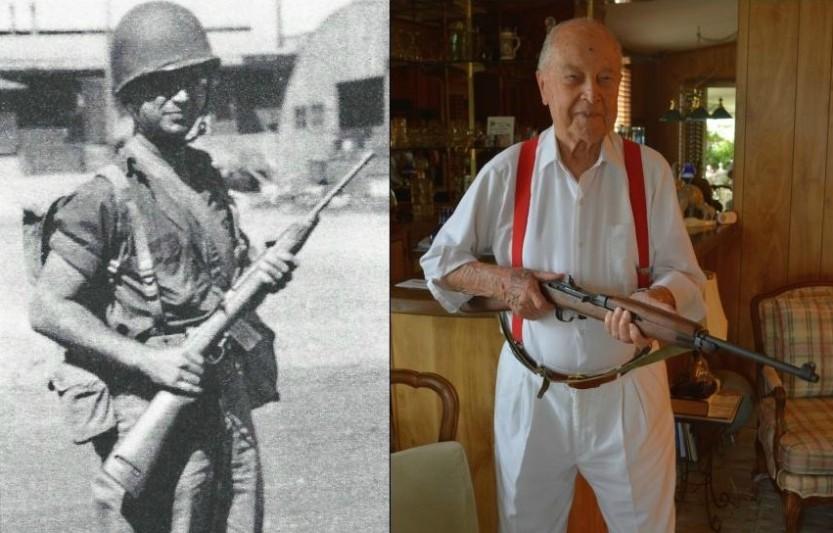 Vernon P Schoenfelder Then and Now (8/3/2014)