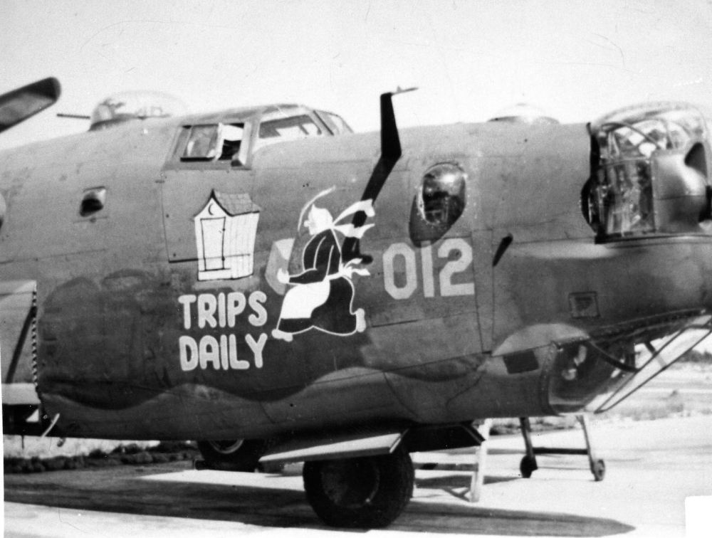 "AIRCRAFT: #42-95012 ""TRIPS DAILY"" ""U-Plus"""