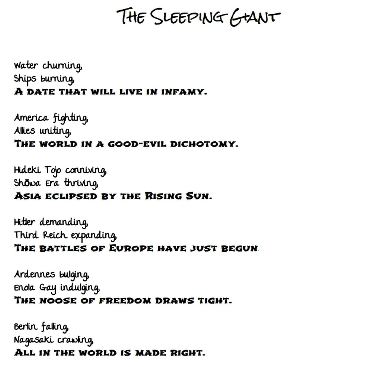 Reflections – Honor the Veterans