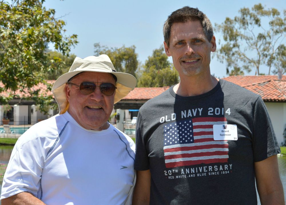 Ted Spriggs and Brent Spencer: July 4, 2014