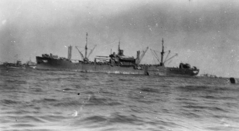 USS Lubbock (APA-197): Off Iwo Jima beachhead, February 1945