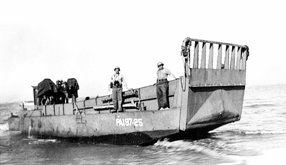Landing Craft, Vehicle, Personnel (LCVP) or Higgins Boat