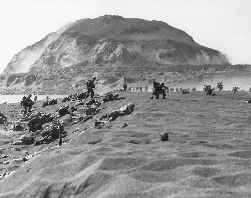 Green Beach, Iwo Jima
