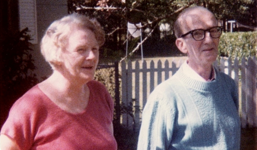 Eugene and Helen Cummiskey: October 1977