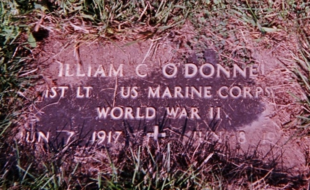 William C O'Donnell June 7, 1917 - June 19, 1968 Grave Marker