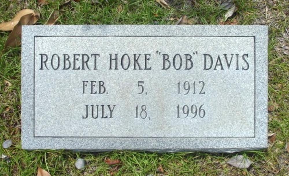Robert H Davis February 5, 1912 - July 18, 1996 Grave Marker