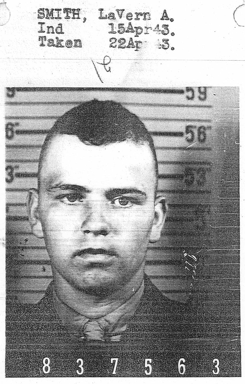 LaVern Alfred Smith July 18, 1923 - June 14, 1952 Military Photo
