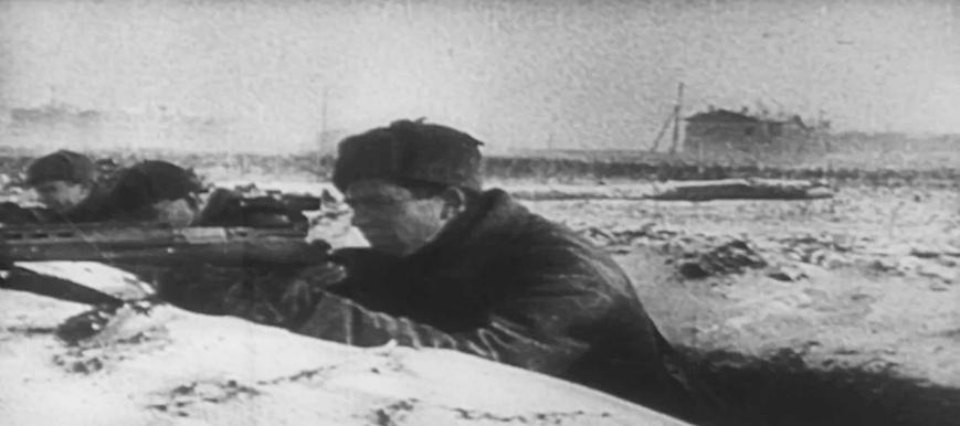 078 HD Stock Footage WWII Battle of Russia Reel 8 Screenshot