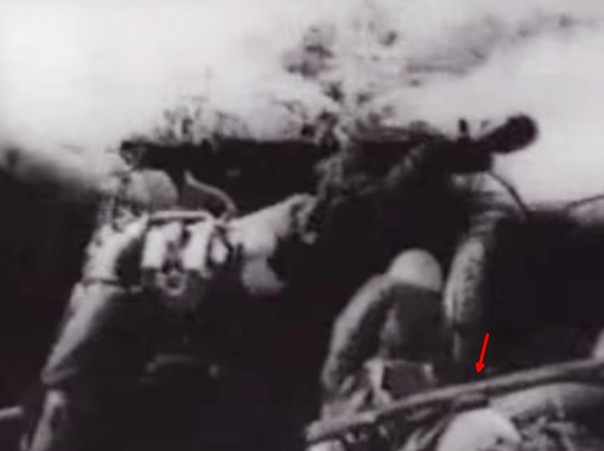 095 SVT40 WW2 PANTHER TANK VS SOVIET INFANTRY Screenshot