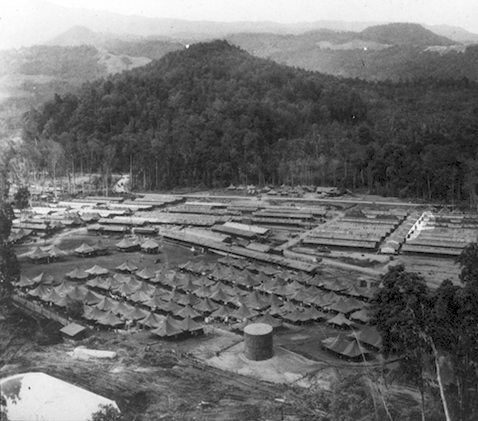 New Guinea: 27th General Hospital Aerial View