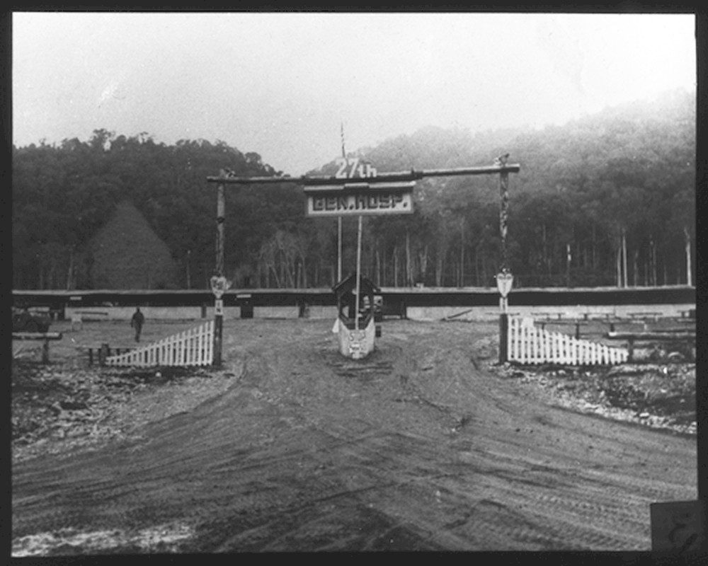 New Guinea: 27th General Hospital Entrance