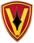 5th Marine Division Insignia