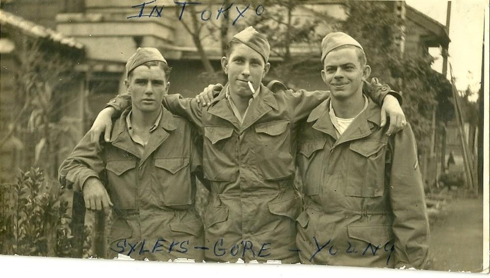 Syleks, Gore and David W Young: Tokyo, Japan 1945