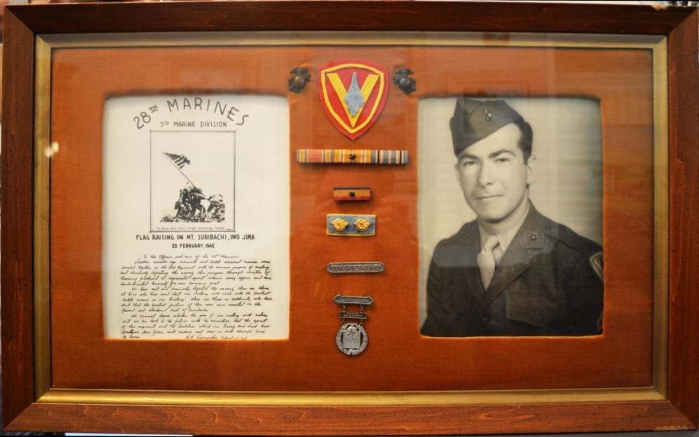 TC Coley: Iwo Jima Remembered, Shadow Box