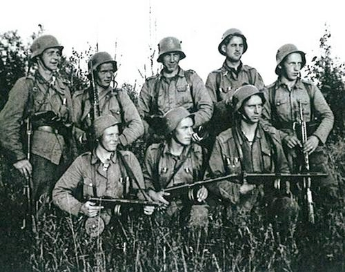 Finns JR-4 8-Div Karjala Karelia Jatkosota Continuation War 1941-1944