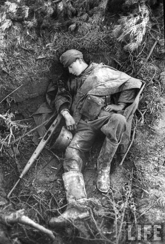 Dead German Soldier - G43
