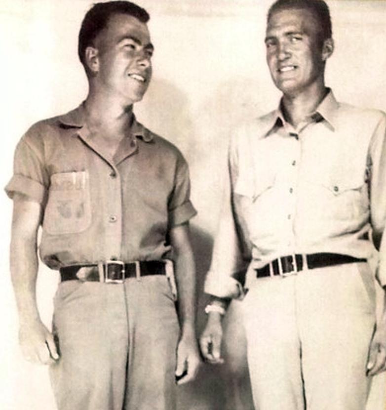 TC Coley & Ben Bixby on Sunday, October 15th, 1944