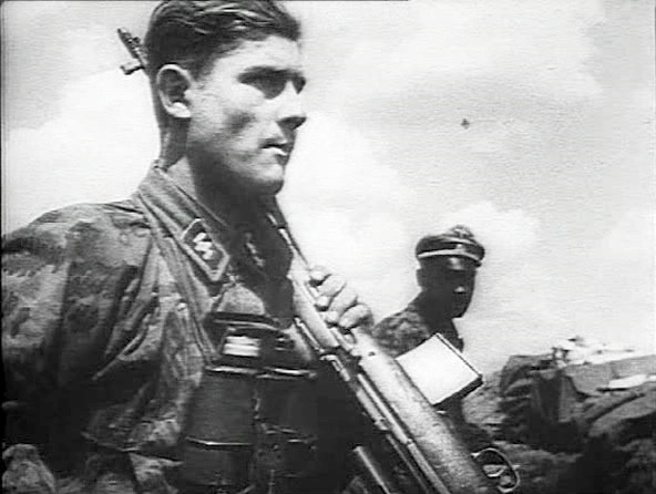 Waffen SS Soldier with SVT-40