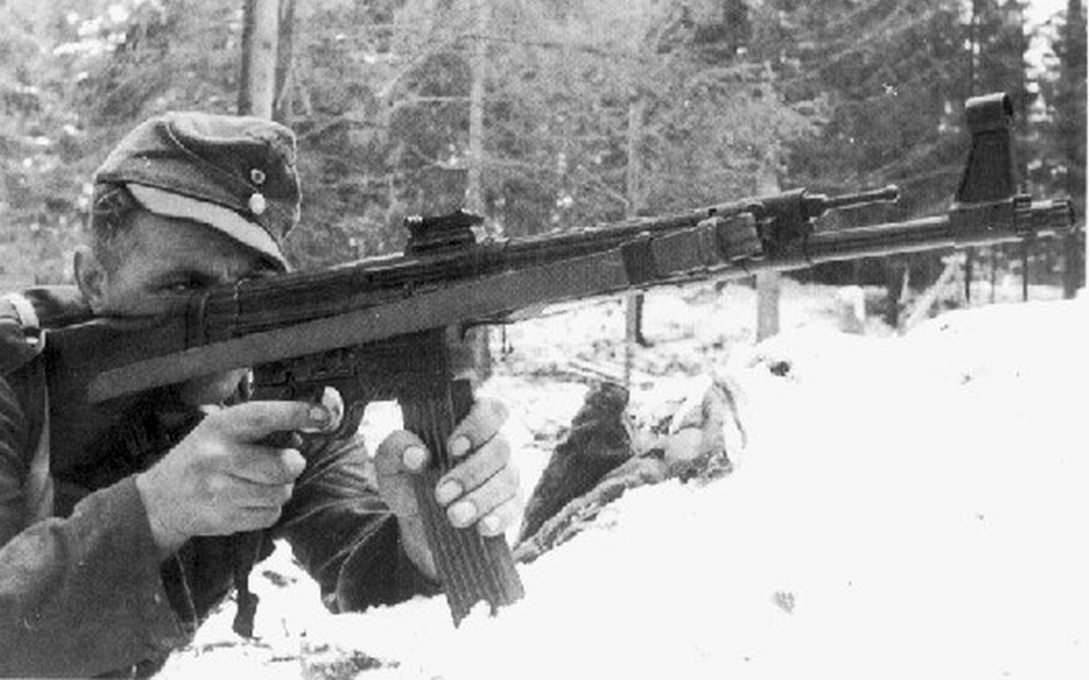 German Soldier with StG-44