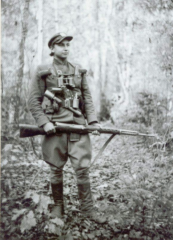 Lithuanian Partisan with SVT-40