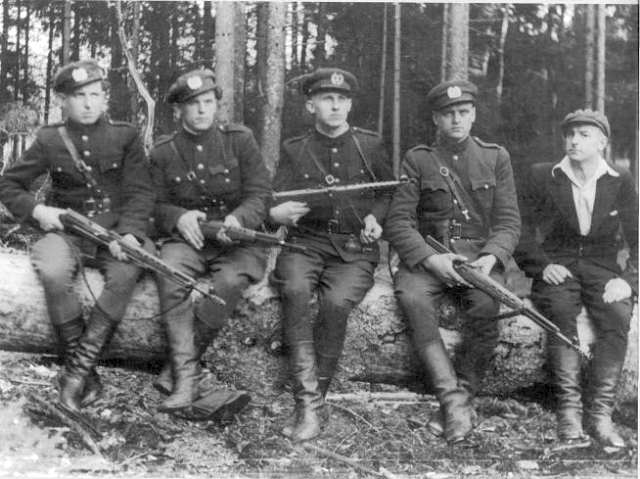 Lithuanian Partisans with SVT-38s and SVT-40