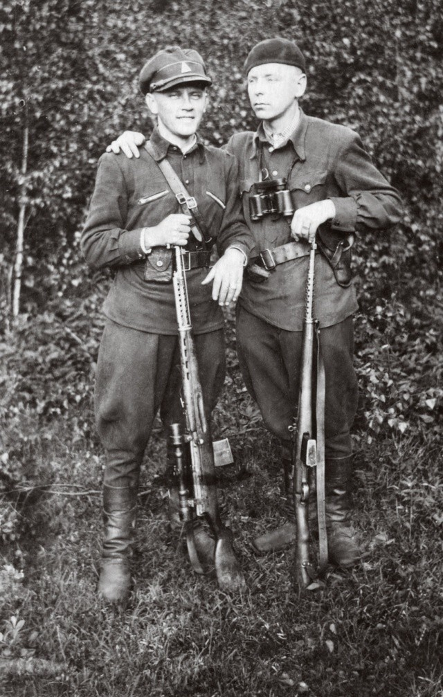 Lithuanian Partisans with SVT-40