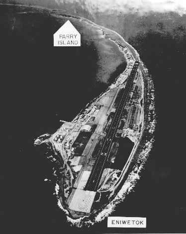 Parry Island relation to Enewetak or Eniwetok Atoll