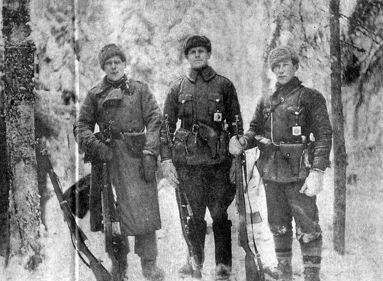 Russian Soldiers with AVS-36s