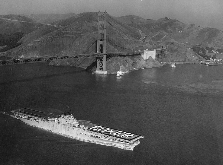 USS Boxer Returning from Korea - November 1950