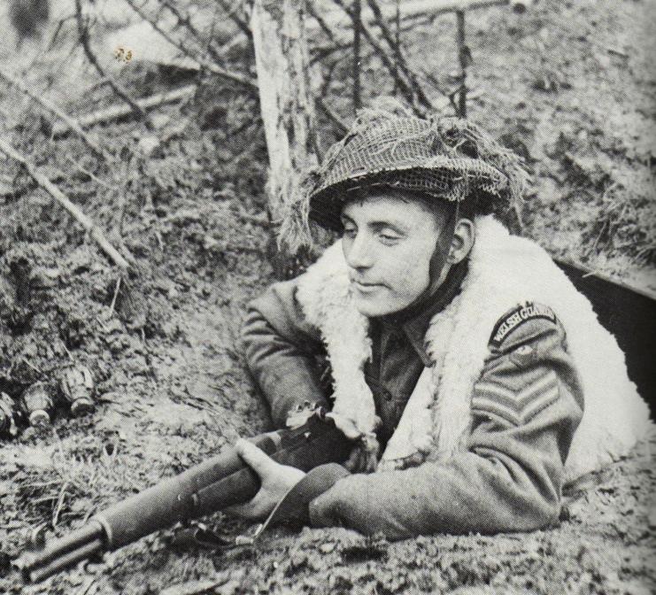 Welsh Guard with M1 Garand