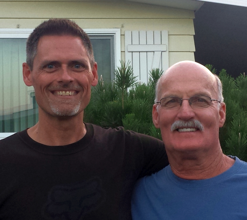 Doug Layland and Brent Spencer