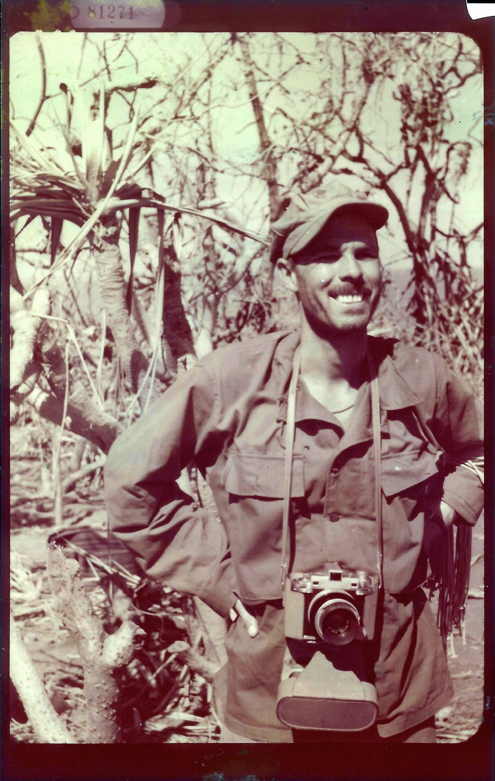Francis Marion Cockrell on Iwo Jima_q90