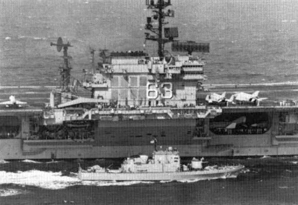 USS Kitty Hawk - December 1970 All Hands Magazine
