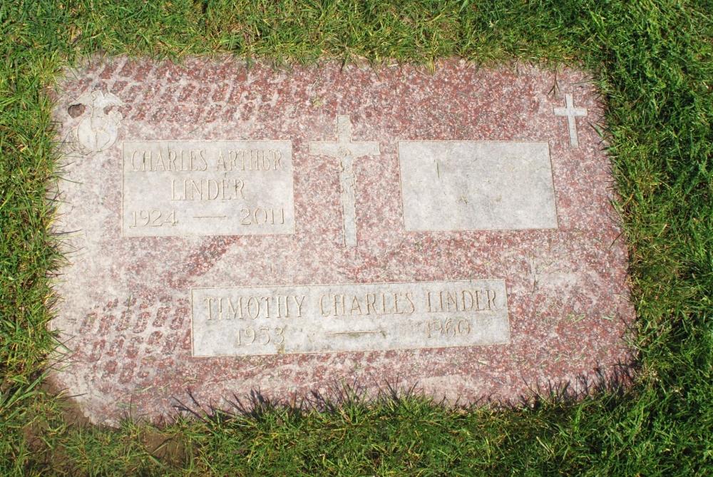 Charles Arthur Linder Grave Marker