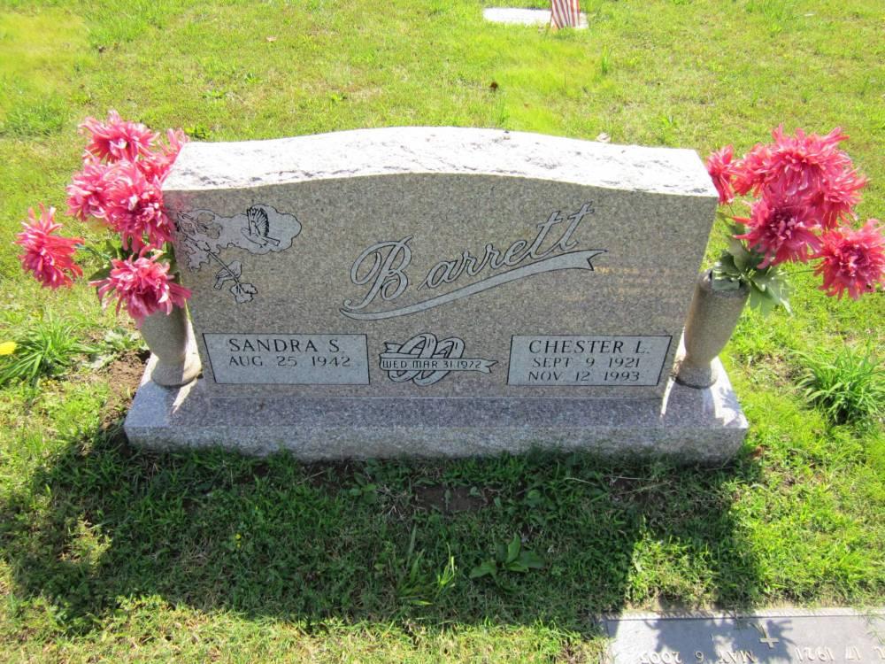 Chester Laurence Barrett Grave Marker
