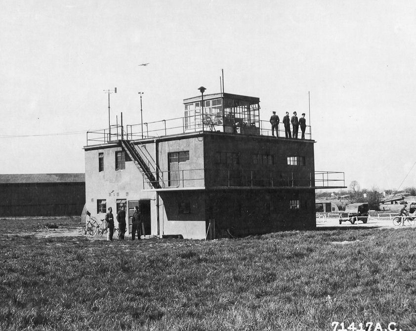 Control Tower of Framlingham Station 153