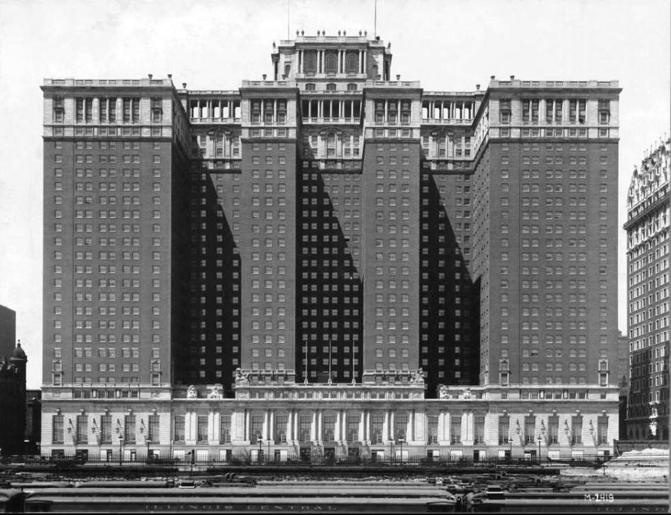 The Stevens Hotel - 1927